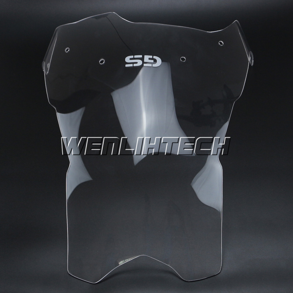 """+4"""" Transparent Clear Windshield Windscreen For BMW F800GS"""