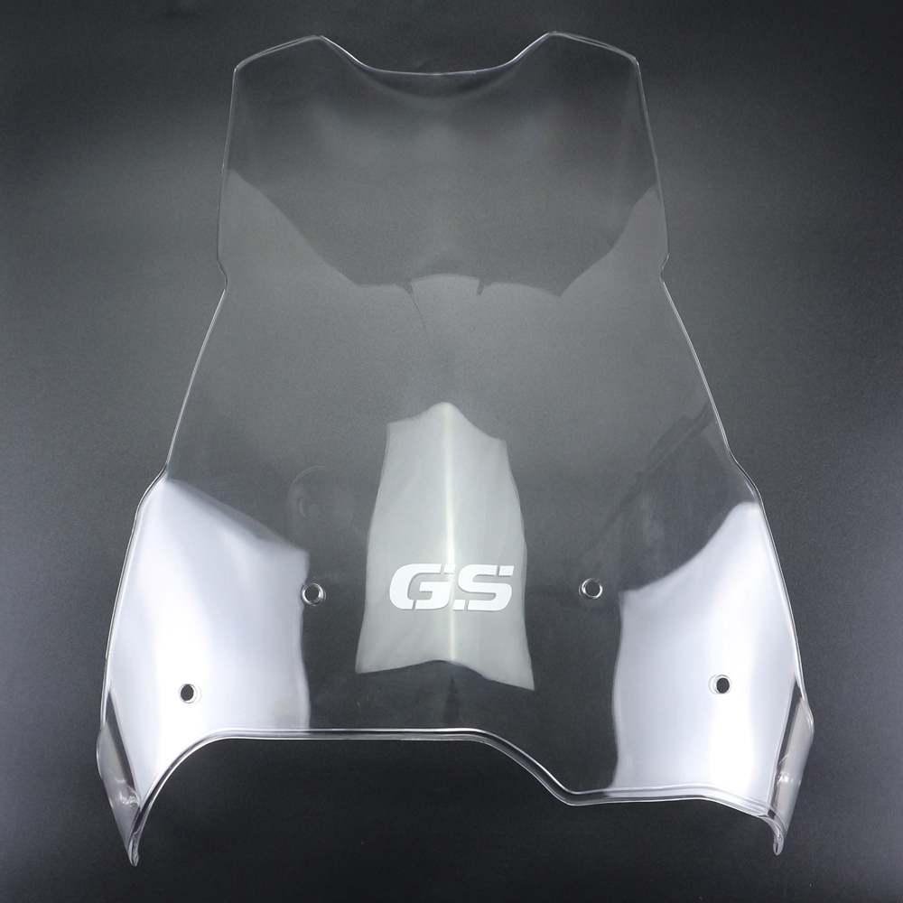 """+4/"""" Transparent Clear Windshield Windscreen For BMW F800GS F650GS 2008-2016"""