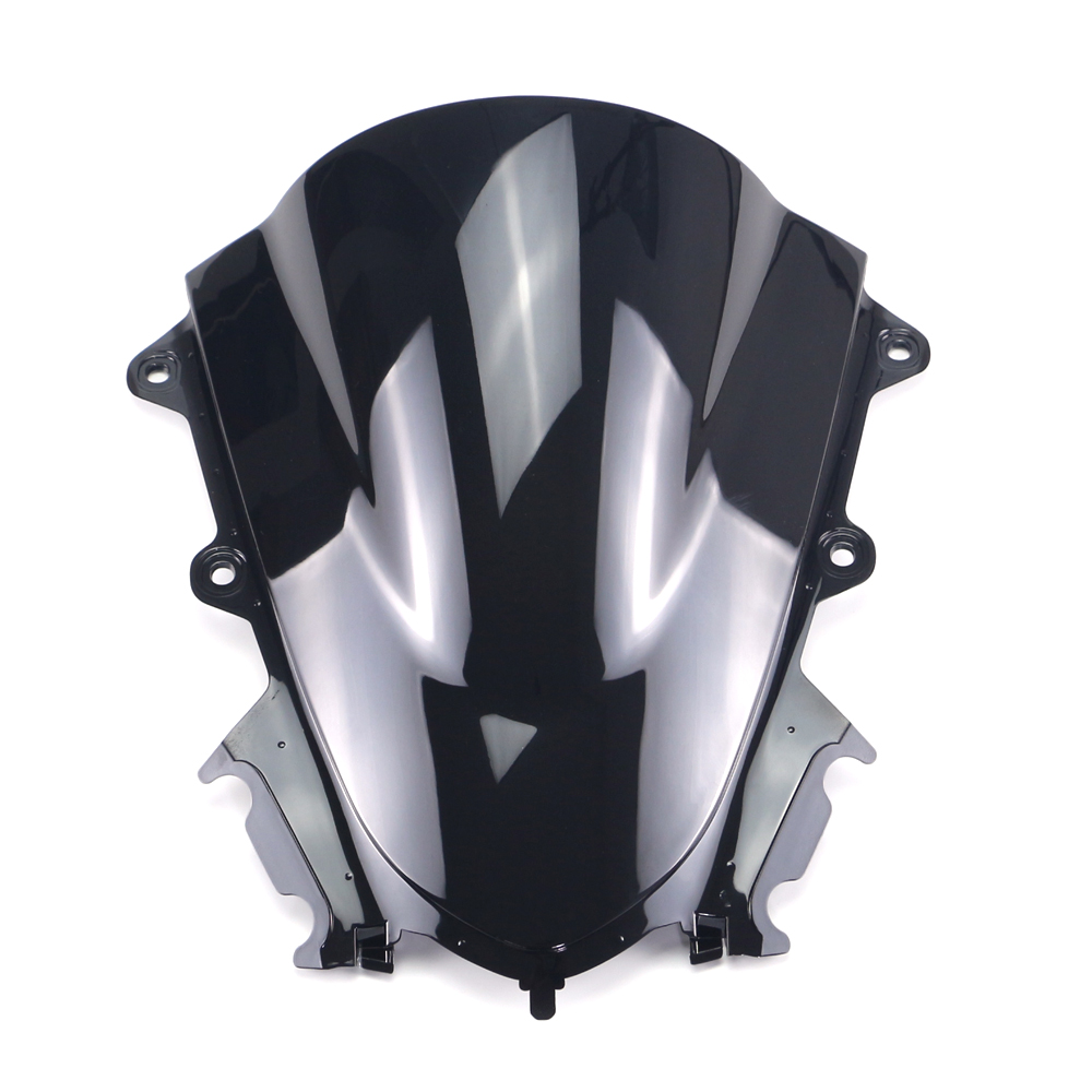 Color : A Double bubble screen Windshield WindScreen For Yamaha YZF R15 V3 2017 2018 2019 2020 YZF-R15 V3.0 Motorcycle Parts For motorcycles